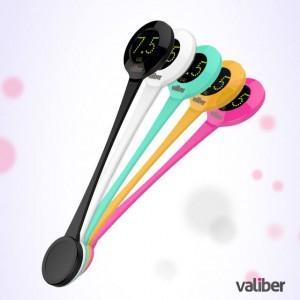 """Познакомьтесь с """"Valiber"""" – умной ложкой, точно определяющей, насколько сладок ваш напиток."""